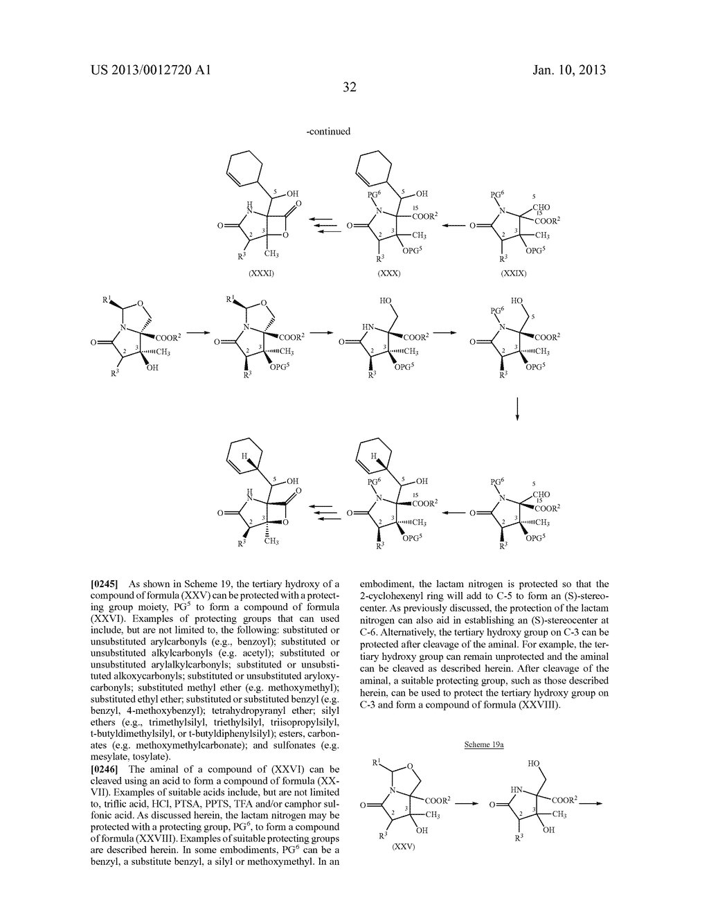 TOTAL SYNTHESIS OF SALINOSPORAMIDE A AND ANALOGS THEREOF - diagram, schematic, and image 94