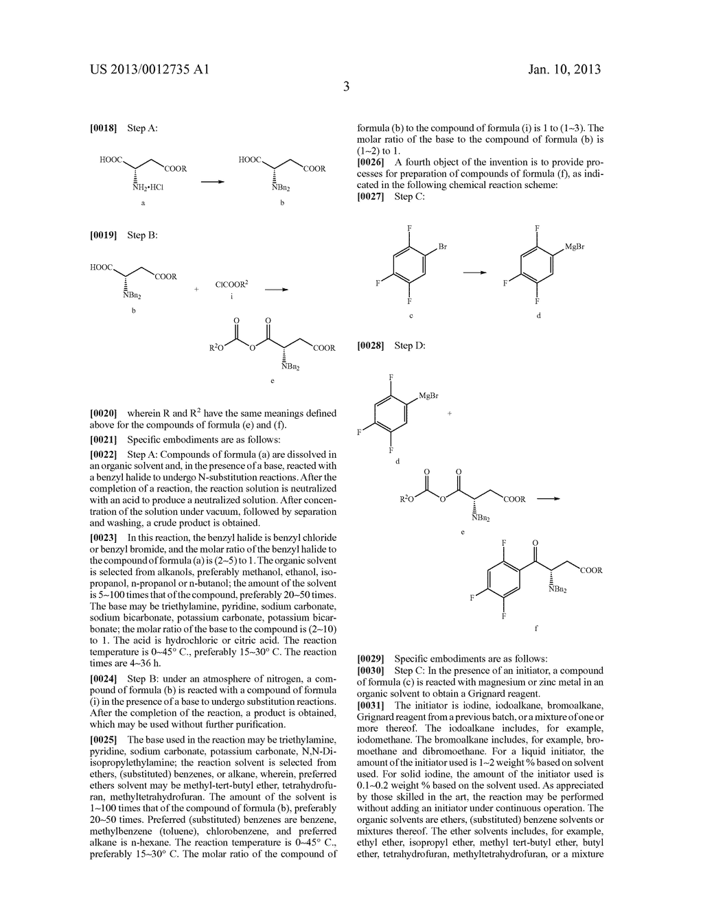SITAGLIPTIN INTERMEDIATE COMPOUNDS, PREPARATION METHODS AND USES THEREOF - diagram, schematic, and image 04