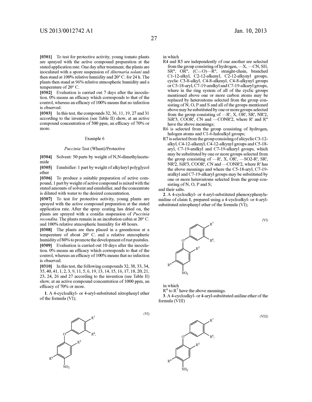 4-CYCLOALKYL OR 4-SUBSTITUTED PHENOXYPHENYLAMIDINES AND USE THEREOF AS     FUNGICIDES - diagram, schematic, and image 28