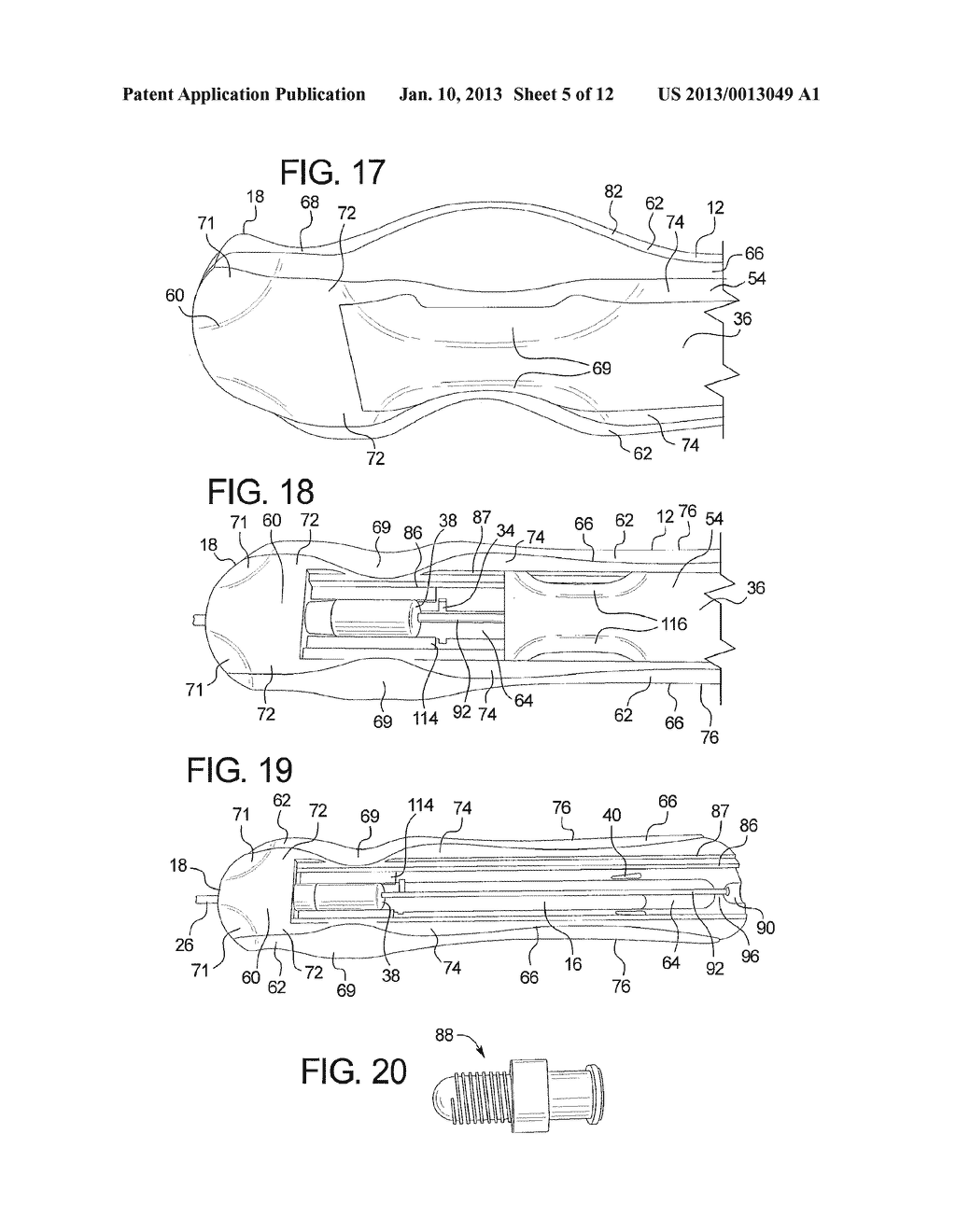 CONTROL HANDLE FOR SELF-EXPANDABLE MEDICAL DEVICES - diagram, schematic, and image 06