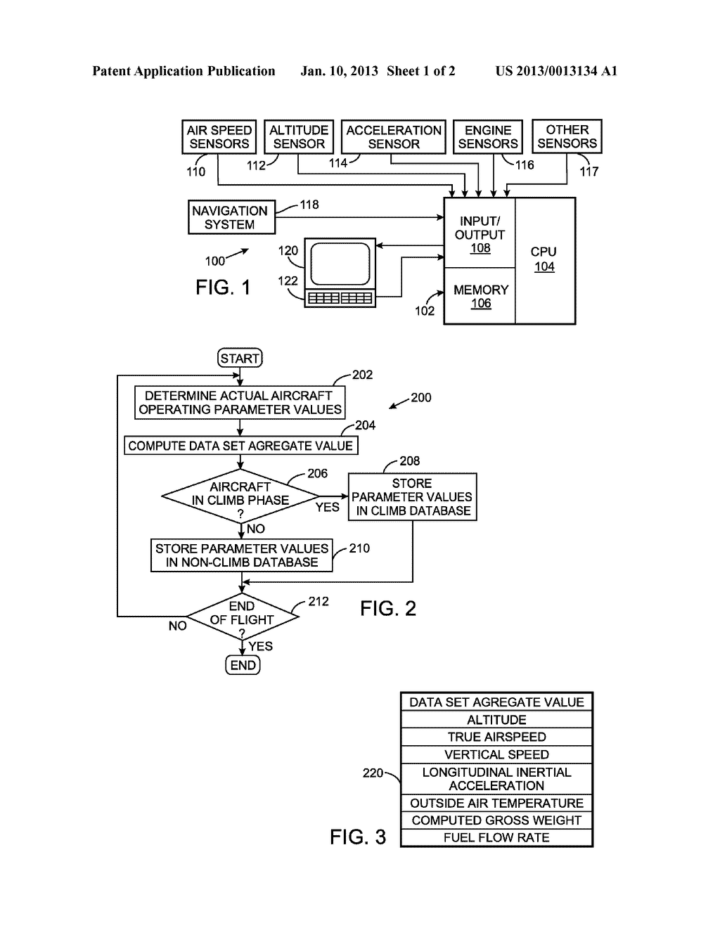 HEURISTIC METHOD FOR COMPUTING PERFORMANCE OF AN AIRCRAFT - diagram, schematic, and image 02