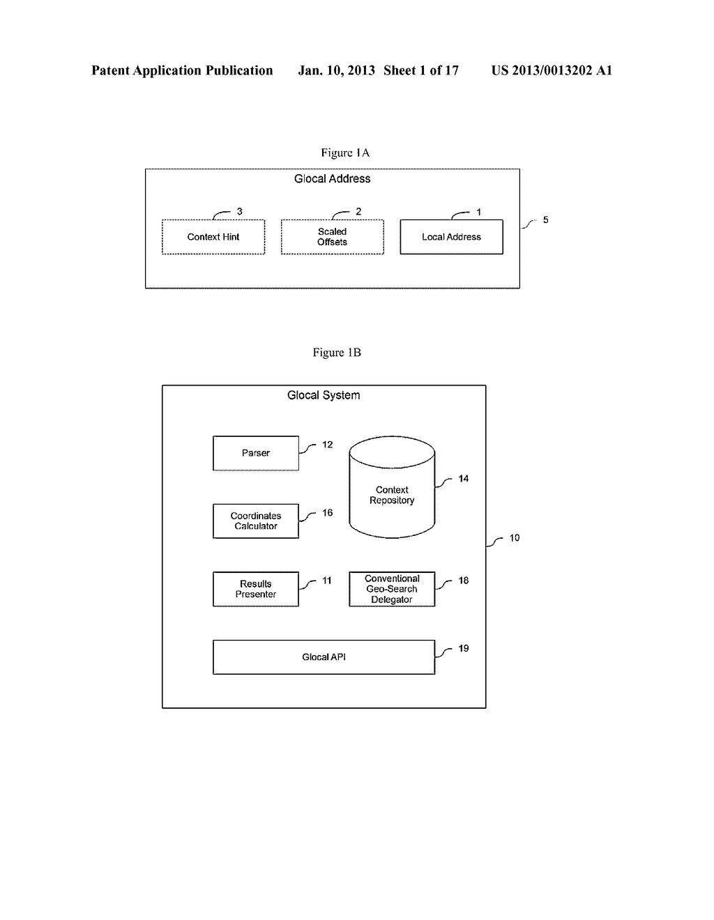 SYSTEM AND METHOD FOR SIMPLIFIED REPRESENTATION OF GEOGRAPHIC ADDRESSES - diagram, schematic, and image 02