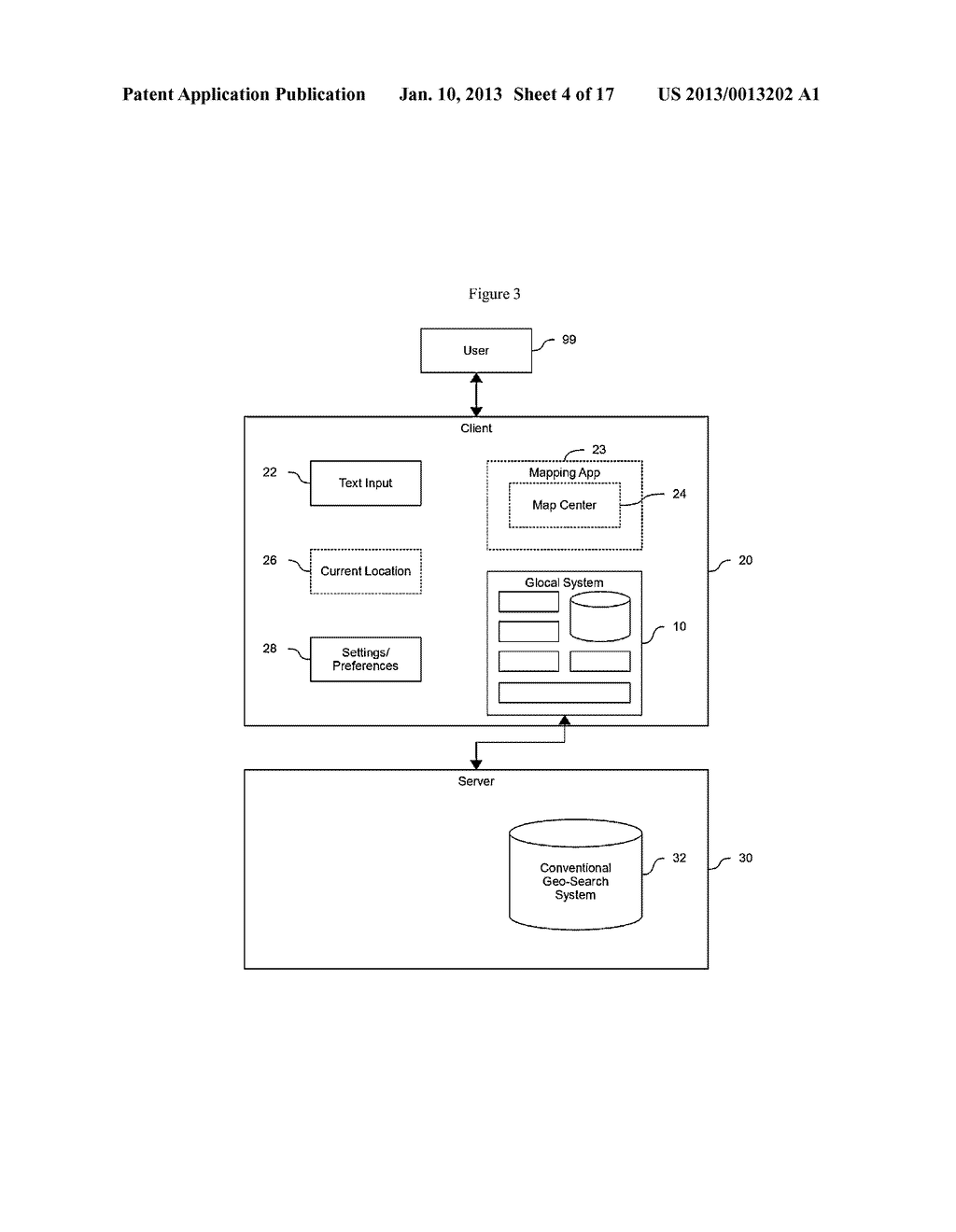 SYSTEM AND METHOD FOR SIMPLIFIED REPRESENTATION OF GEOGRAPHIC ADDRESSES - diagram, schematic, and image 05