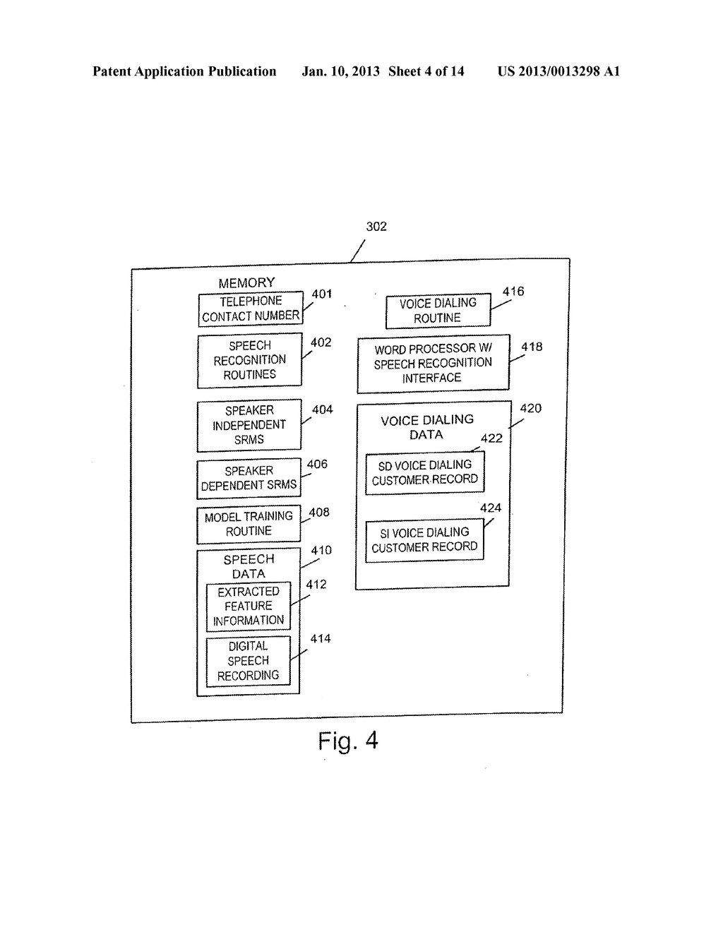 METHODS AND APPARATUS FOR GENERATING, UPDATING AND DISTRIBUTING SPEECH     RECOGNITION MODELS - diagram, schematic, and image 05