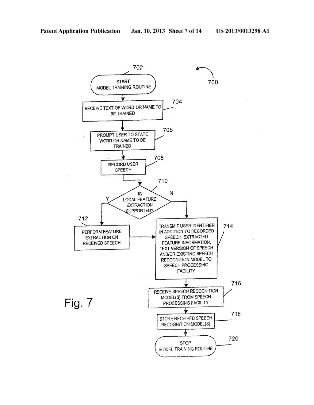 METHODS AND APPARATUS FOR GENERATING, UPDATING AND DISTRIBUTING SPEECH     RECOGNITION MODELS - diagram, schematic, and image 08