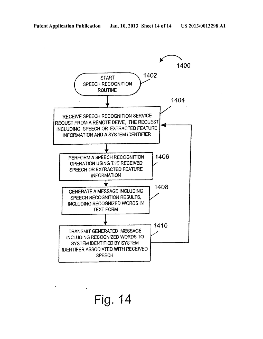 METHODS AND APPARATUS FOR GENERATING, UPDATING AND DISTRIBUTING SPEECH     RECOGNITION MODELS - diagram, schematic, and image 15