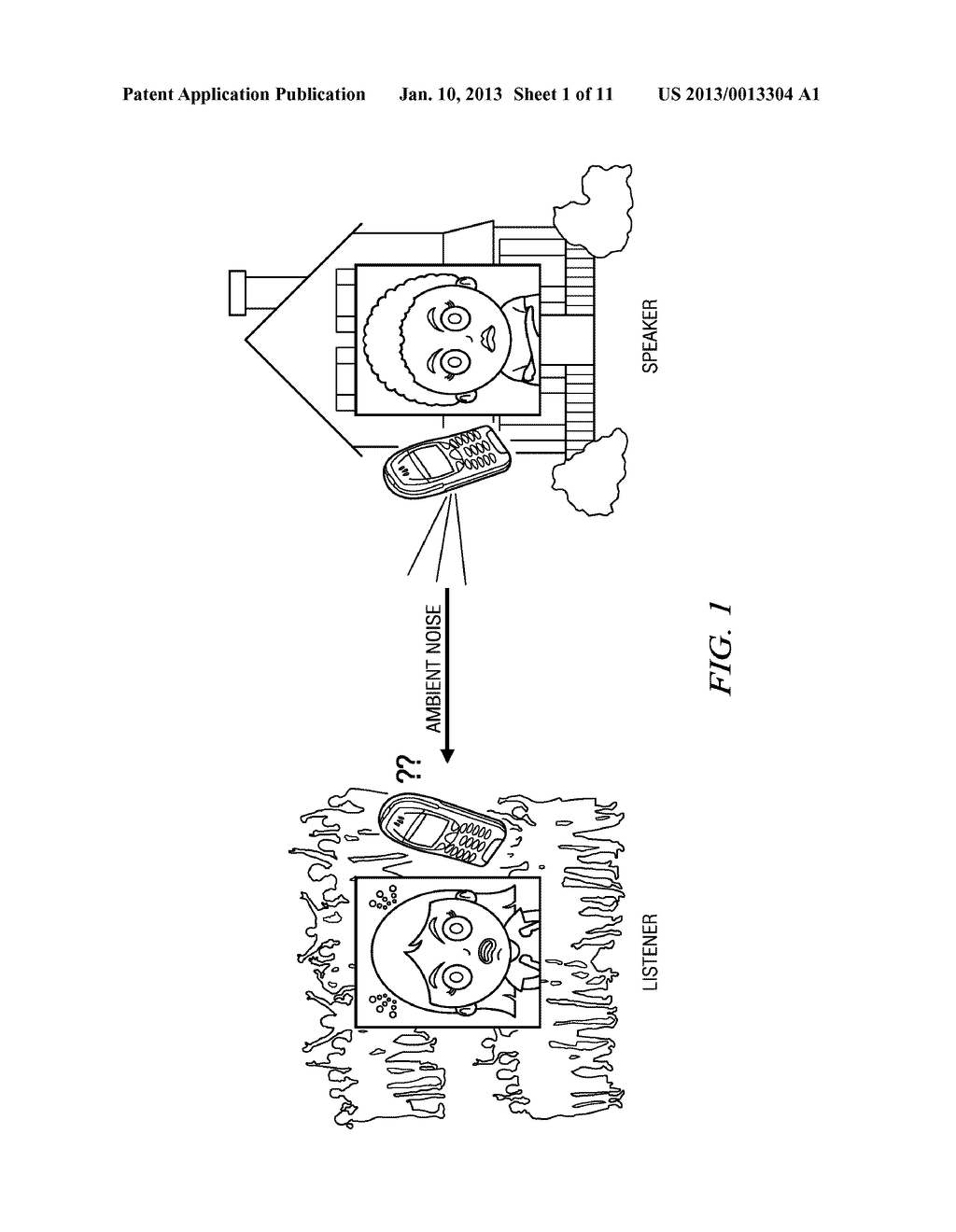 Method and Apparatus for Environmental Noise Compensation - diagram, schematic, and image 02