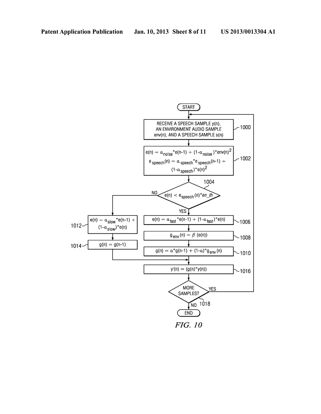 Method and Apparatus for Environmental Noise Compensation - diagram, schematic, and image 09