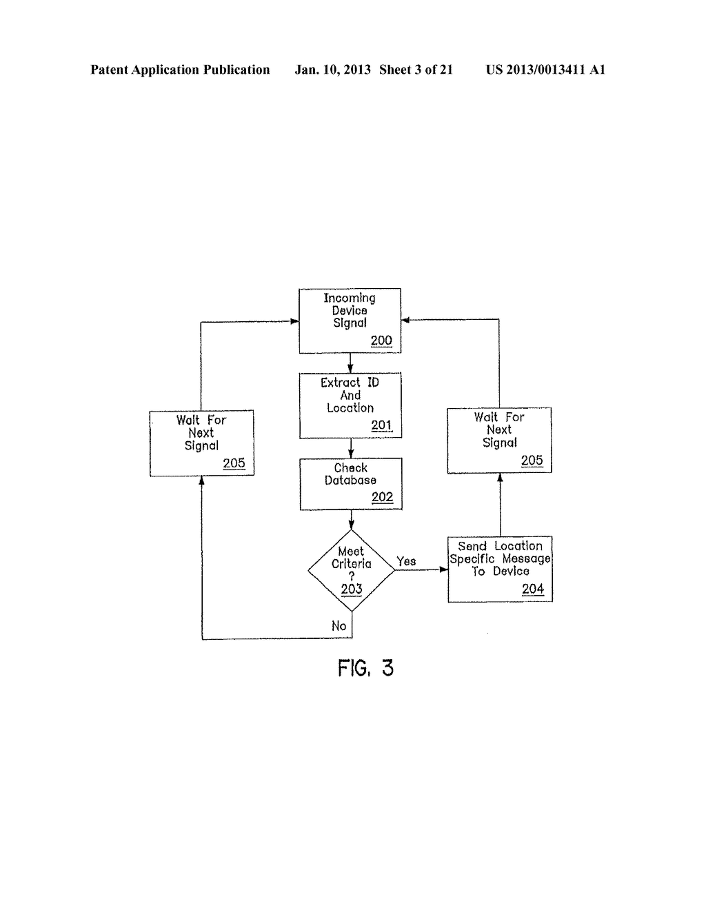 SYSTEM AND METHOD OF ACCESSING AND RECORDING MESSAGES AT COORDINATE WAY     POINTS - diagram, schematic, and image 04