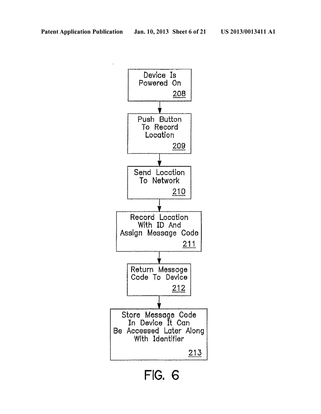 SYSTEM AND METHOD OF ACCESSING AND RECORDING MESSAGES AT COORDINATE WAY     POINTS - diagram, schematic, and image 07