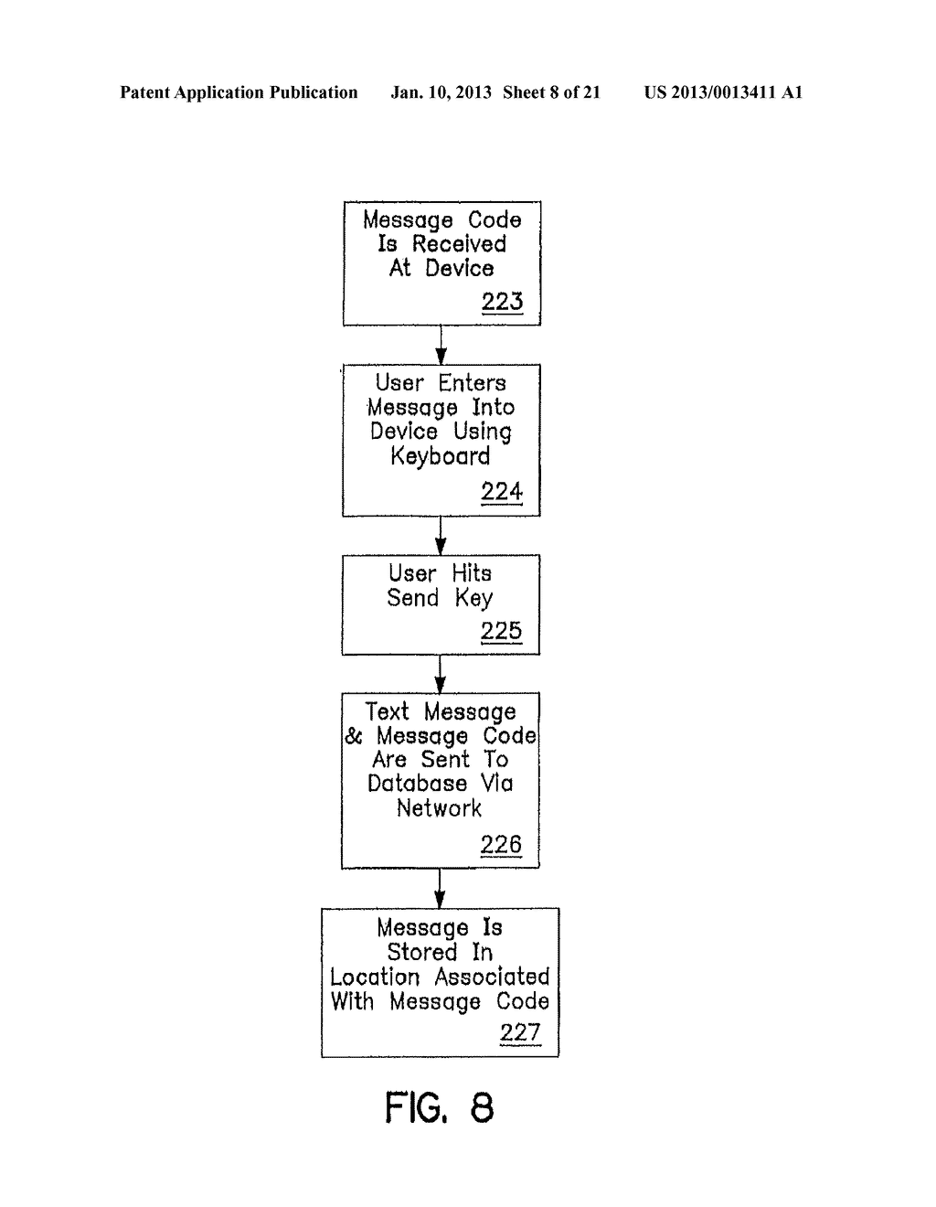 SYSTEM AND METHOD OF ACCESSING AND RECORDING MESSAGES AT COORDINATE WAY     POINTS - diagram, schematic, and image 09
