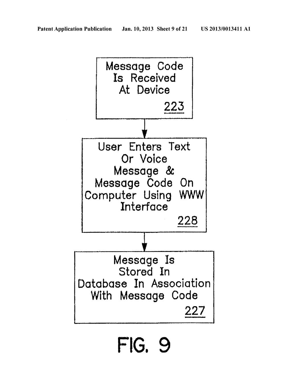 SYSTEM AND METHOD OF ACCESSING AND RECORDING MESSAGES AT COORDINATE WAY     POINTS - diagram, schematic, and image 10