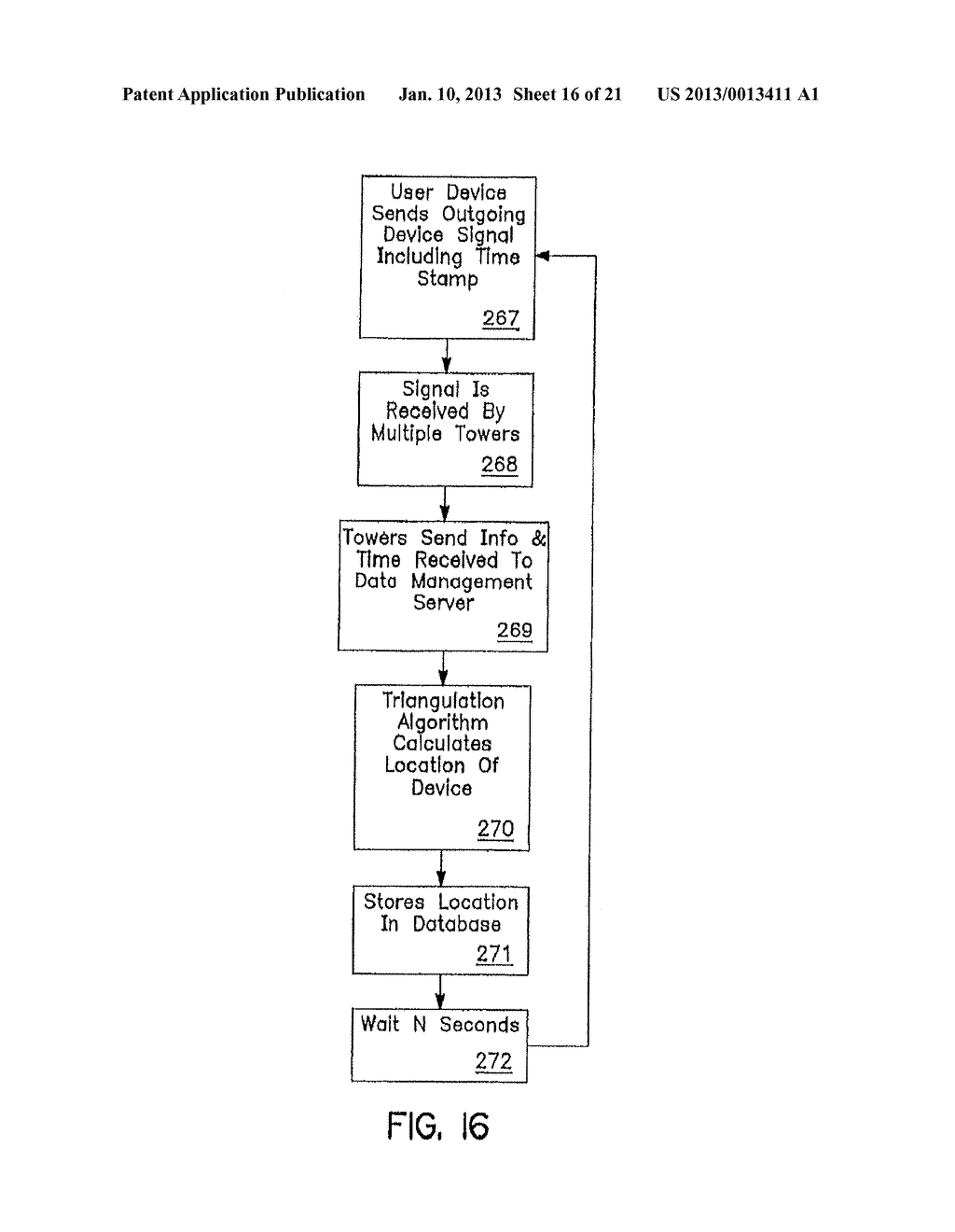 SYSTEM AND METHOD OF ACCESSING AND RECORDING MESSAGES AT COORDINATE WAY     POINTS - diagram, schematic, and image 17