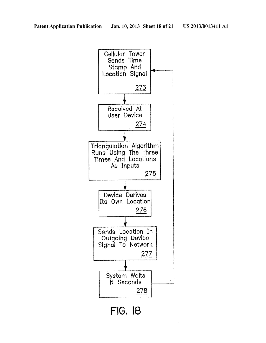 SYSTEM AND METHOD OF ACCESSING AND RECORDING MESSAGES AT COORDINATE WAY     POINTS - diagram, schematic, and image 19