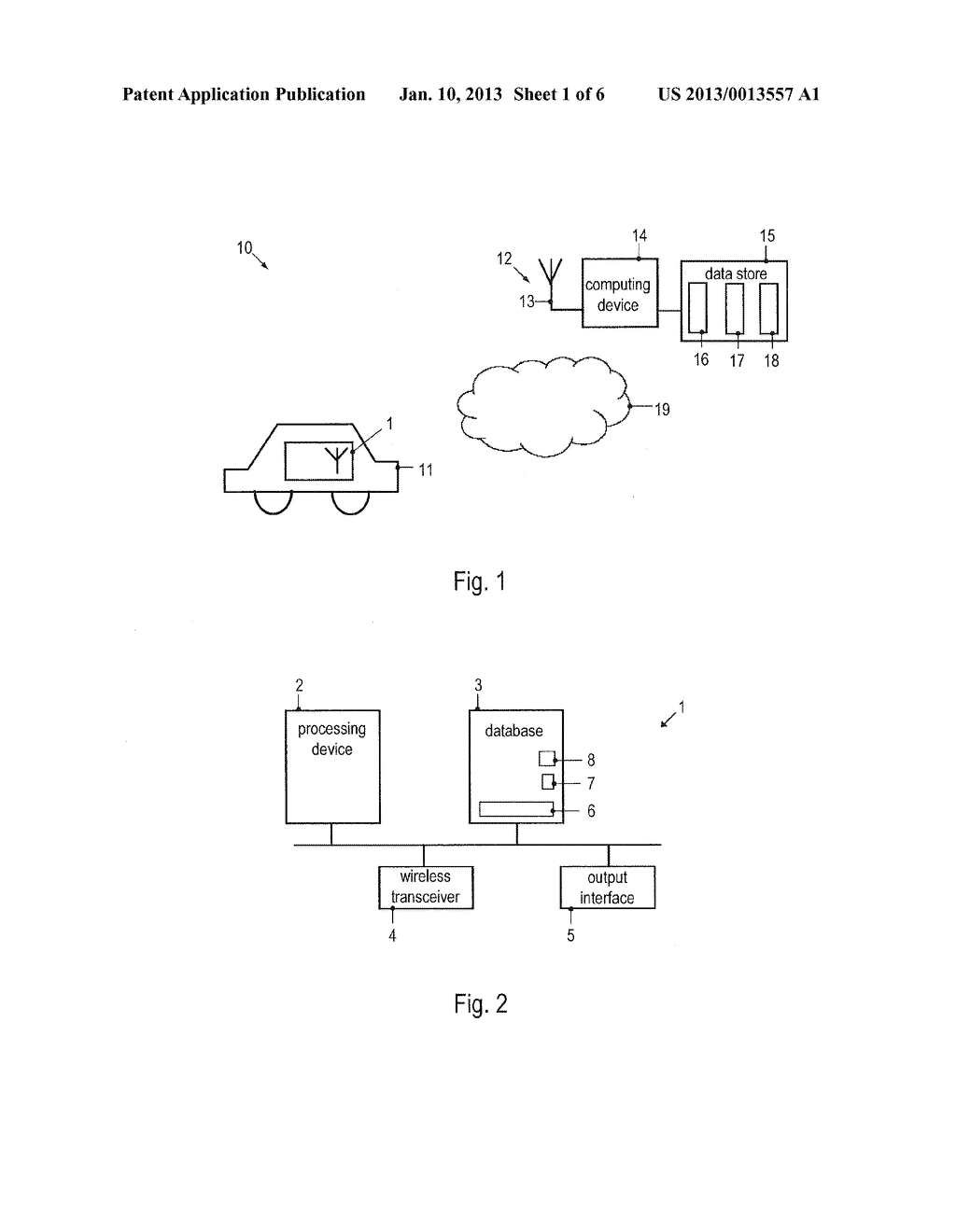 METHOD OF UPDATING A DATABASE OF A NAVIGATION DEVICE AND NAVIGATION DEVICE - diagram, schematic, and image 02
