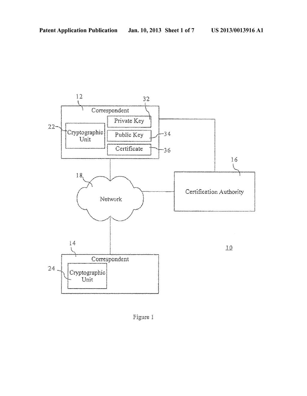 Method and Apparatus for Verifiable Generation of Public Keys - diagram, schematic, and image 02