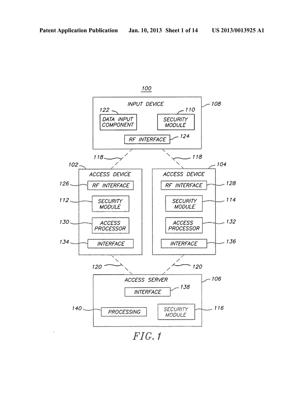 System and Method for Authentication via a Proximate Device - diagram, schematic, and image 02