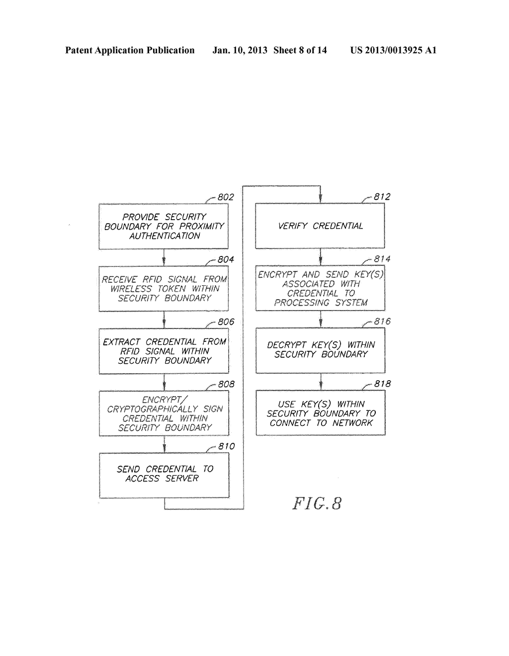 System and Method for Authentication via a Proximate Device - diagram, schematic, and image 09