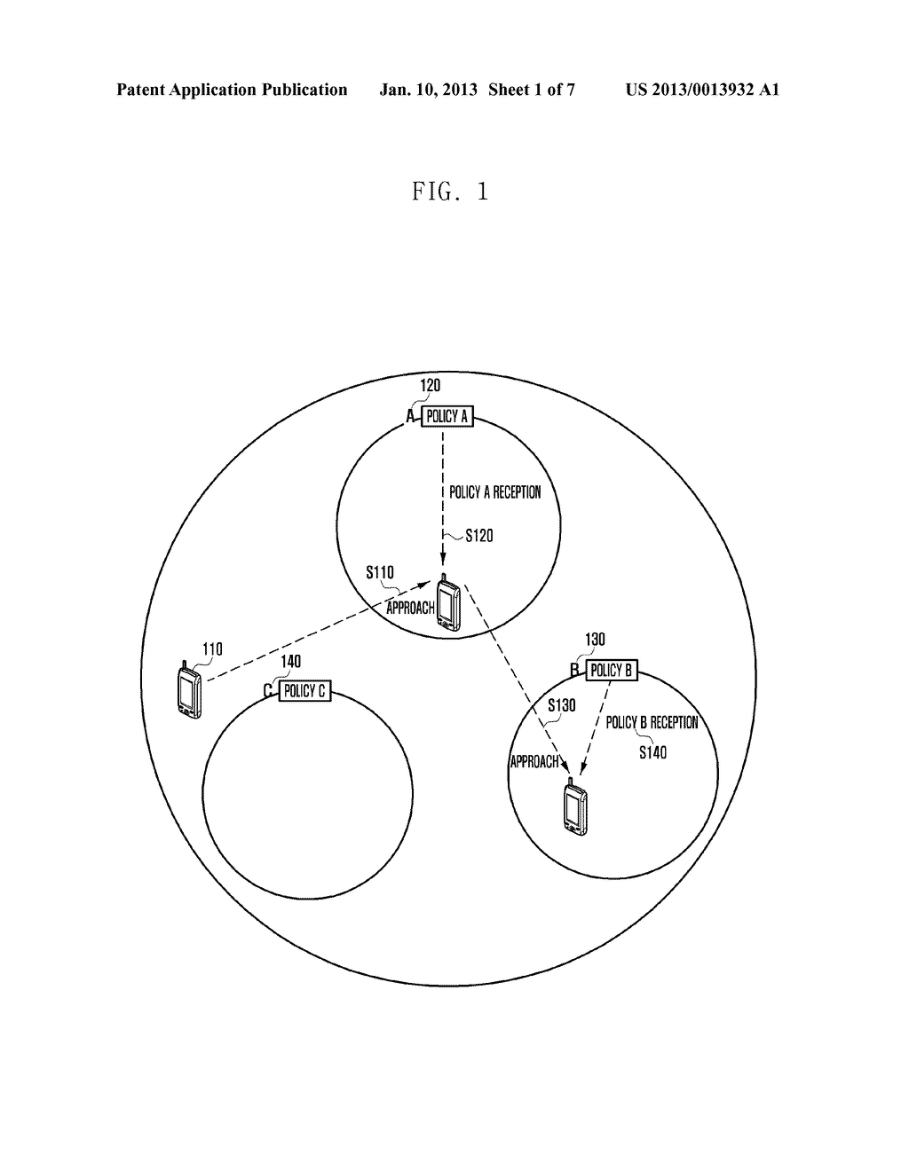 SECURITY MANAGEMENT SYSTEM AND METHOD FOR LOCATION-BASED MOBILE DEVICE - diagram, schematic, and image 02