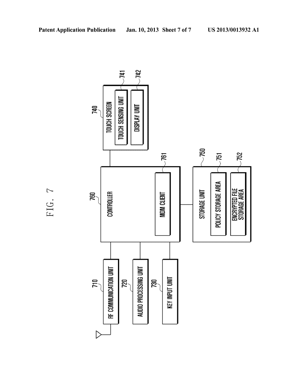SECURITY MANAGEMENT SYSTEM AND METHOD FOR LOCATION-BASED MOBILE DEVICE - diagram, schematic, and image 08