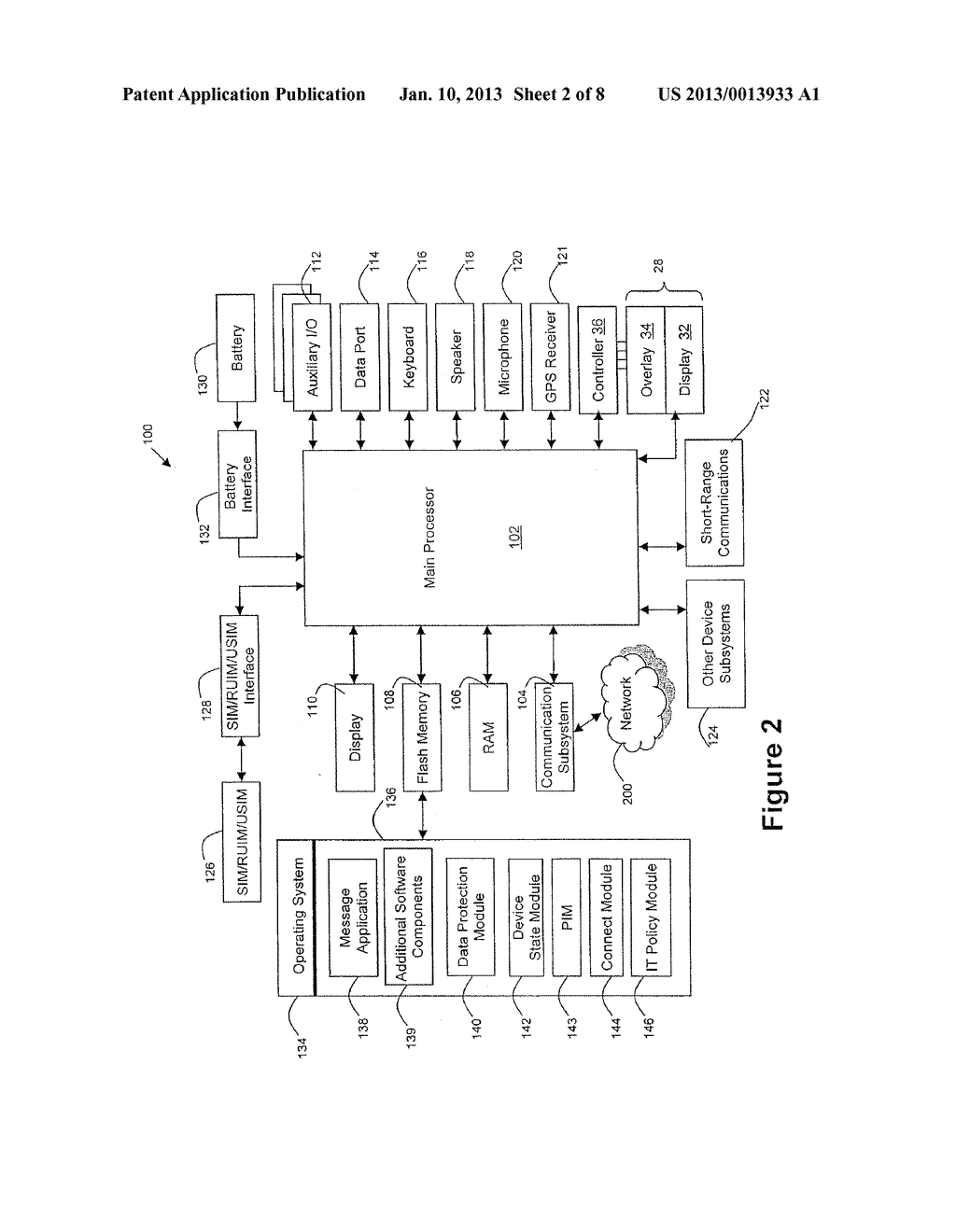 System and Method for Protecting Data on a Mobile Device - diagram, schematic, and image 03