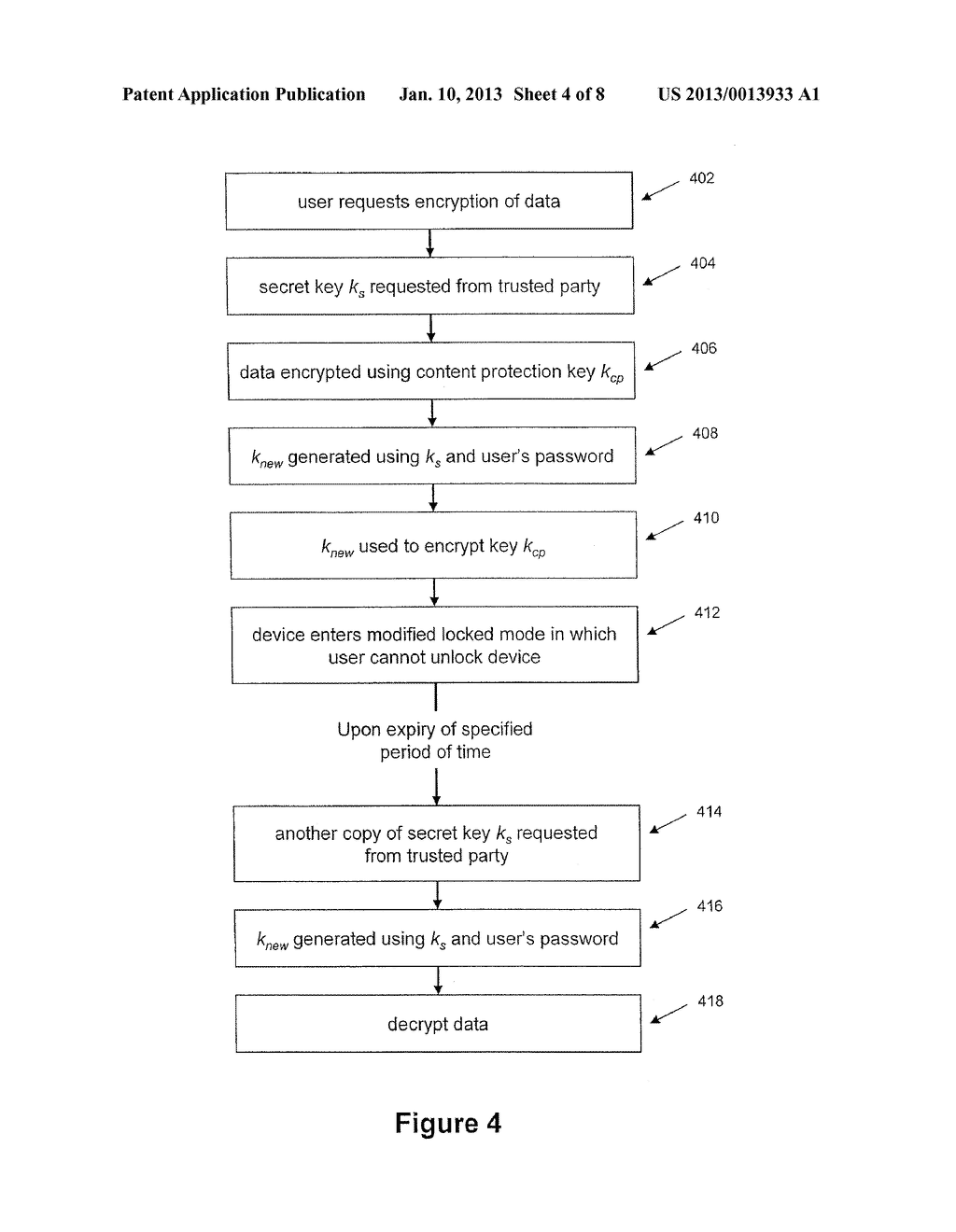 System and Method for Protecting Data on a Mobile Device - diagram, schematic, and image 05
