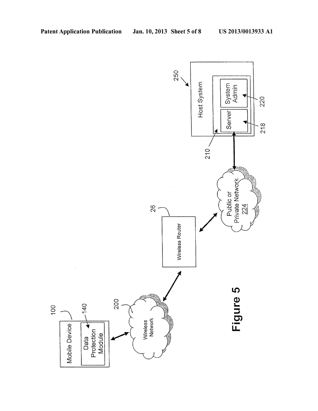 System and Method for Protecting Data on a Mobile Device - diagram, schematic, and image 06