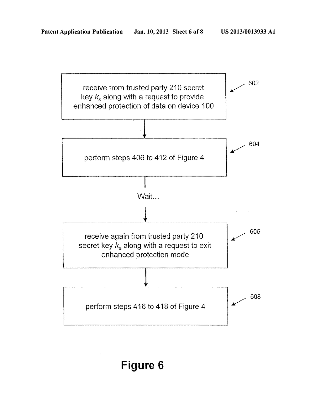 System and Method for Protecting Data on a Mobile Device - diagram, schematic, and image 07