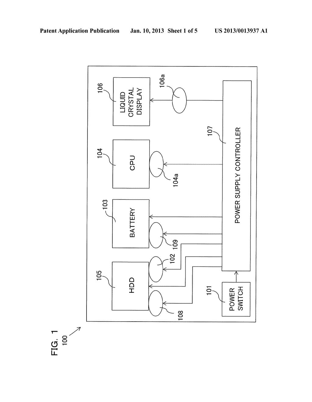 Information Processing Device and Method for Starting Up Information     Processing Device - diagram, schematic, and image 02
