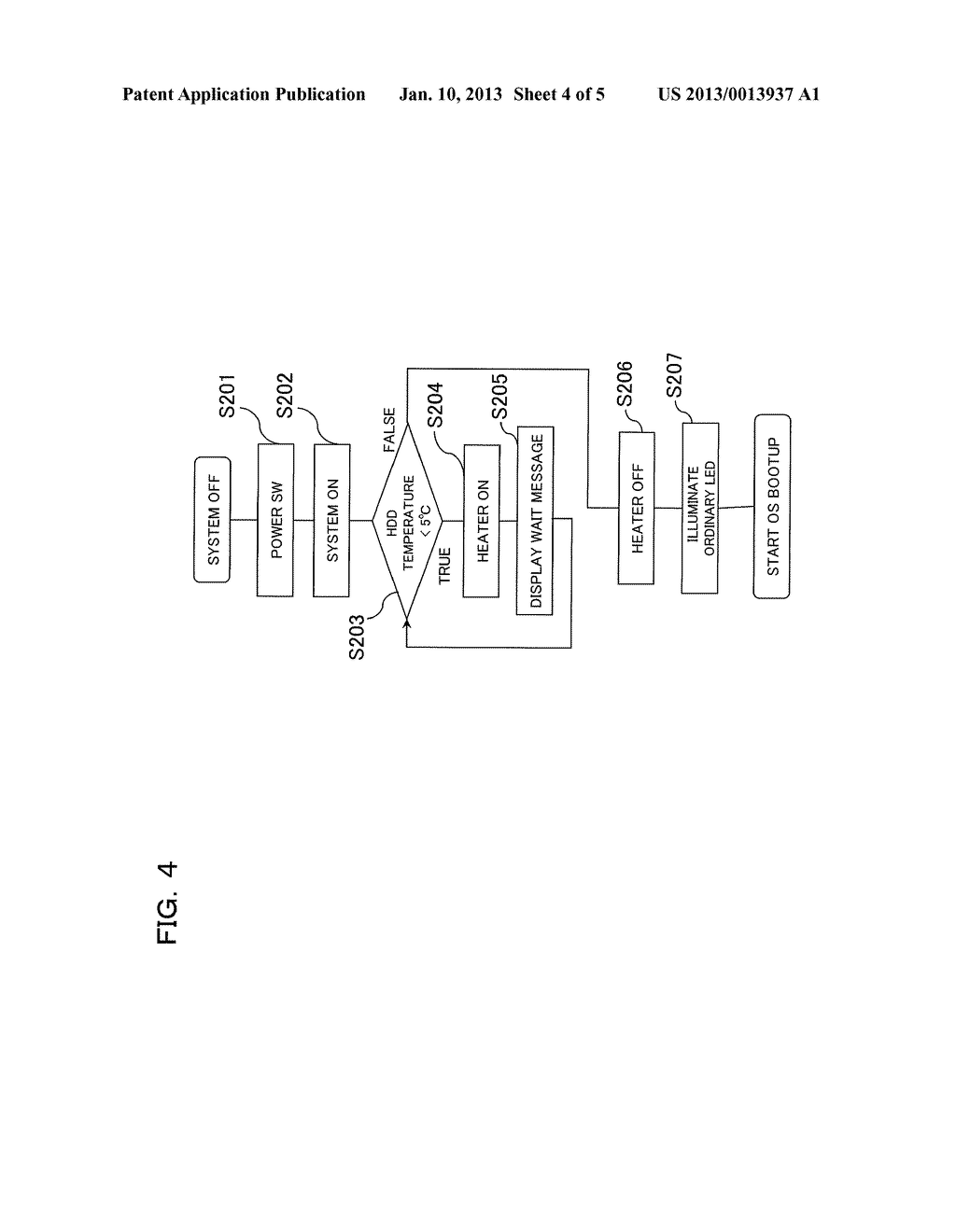 Information Processing Device and Method for Starting Up Information     Processing Device - diagram, schematic, and image 05