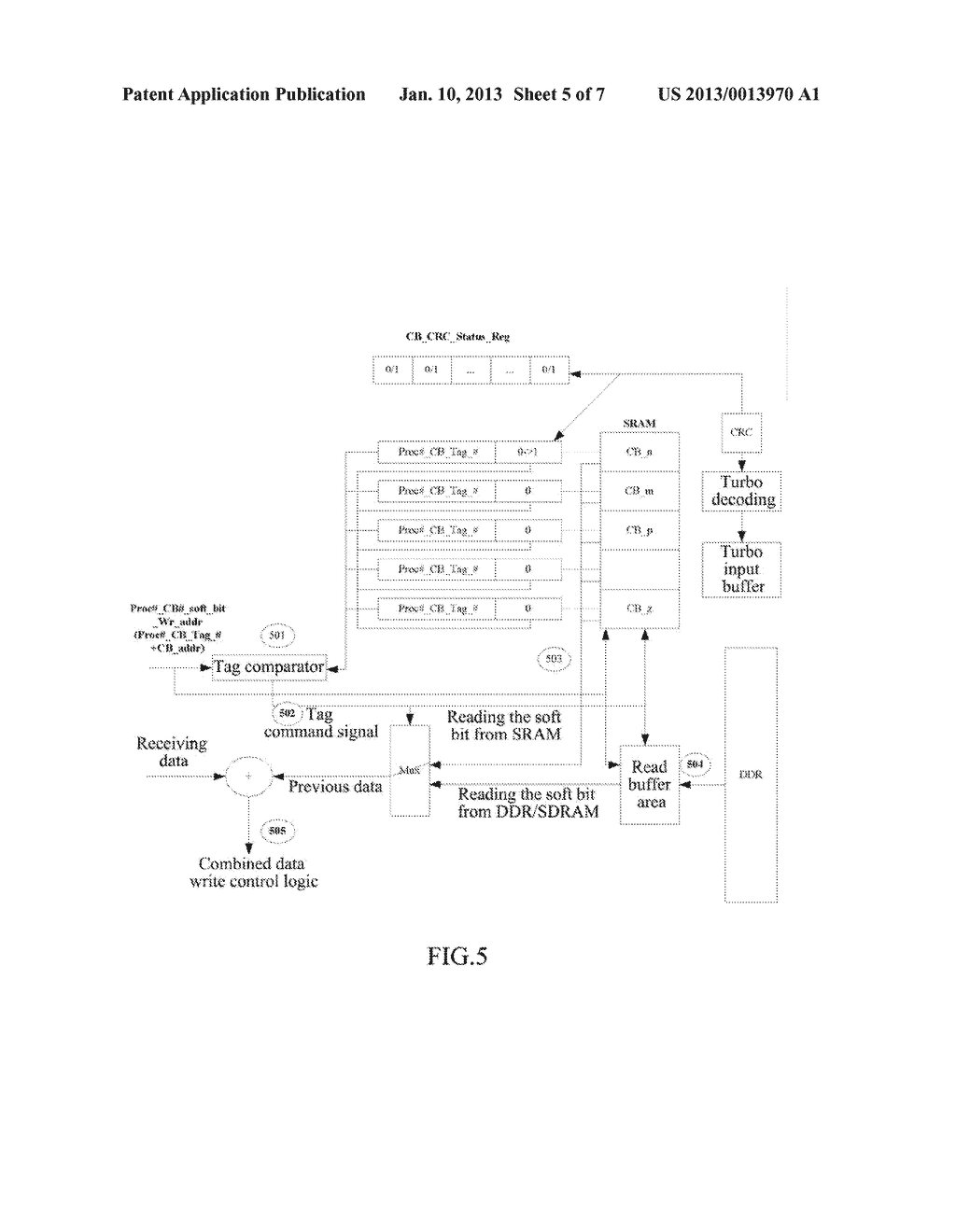 Hierarchy Management Method and System for HARQ Memory - diagram, schematic, and image 06