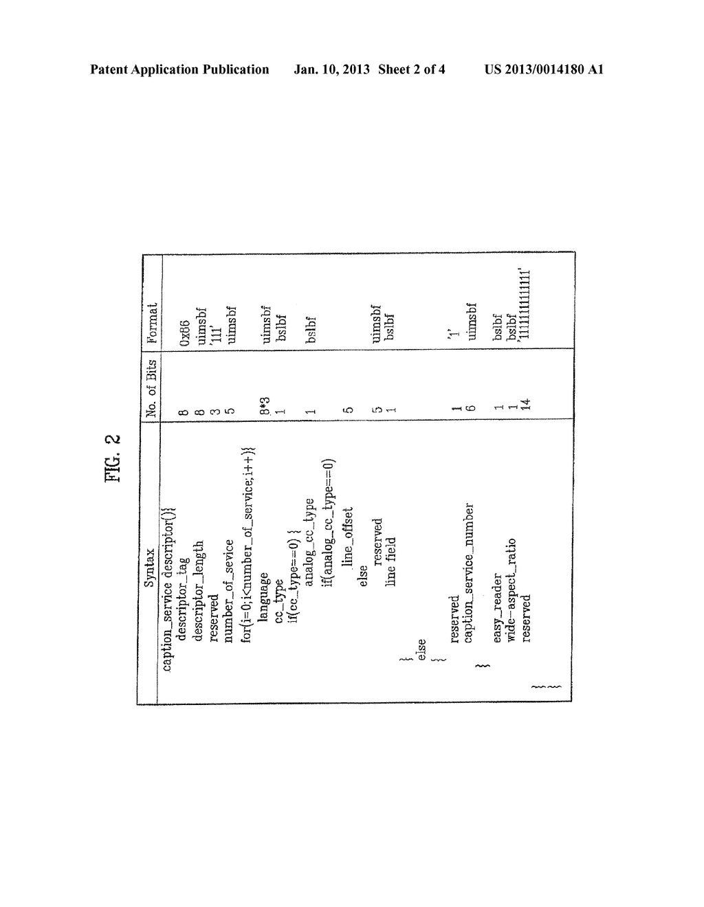 DIGITAL BROADCAST RECEIVER AND METHOD FOR PROCESSING CAPTION THEREOF - diagram, schematic, and image 03