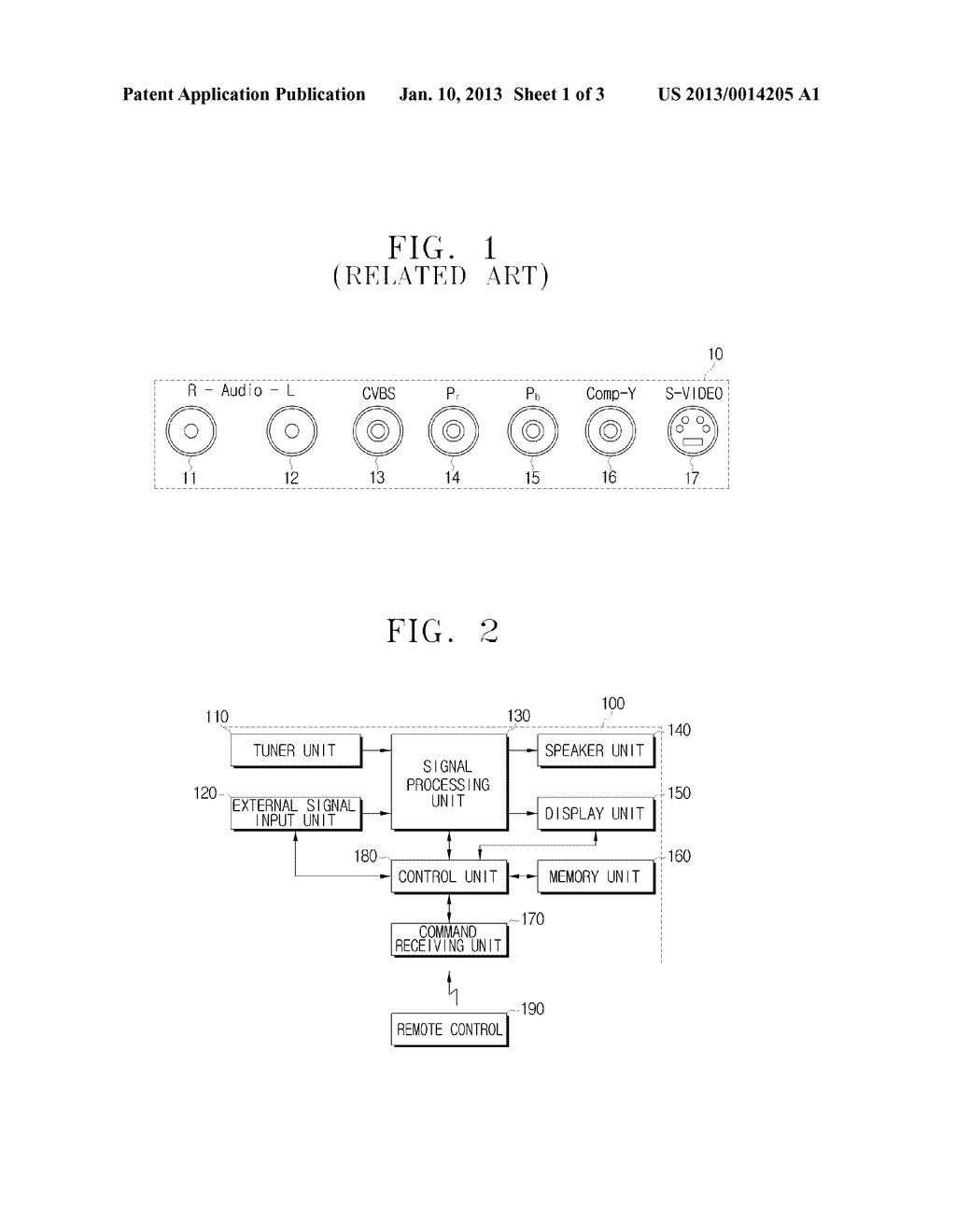 IMAGE APPARATUS AND METHOD FOR RECEIVING VIDEO SIGNAL - diagram, schematic, and image 02
