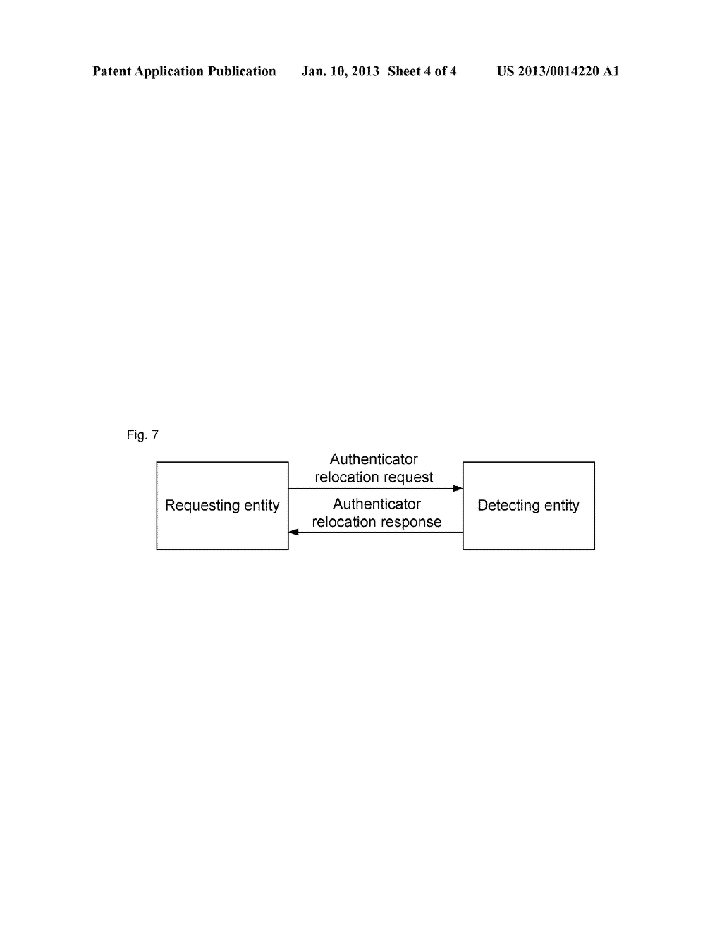 Method and system for processing authenticator relocation request - diagram, schematic, and image 05