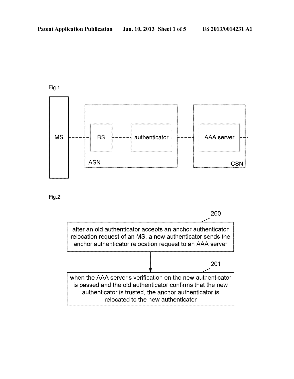 Anchor authenticator relocation method and system - diagram, schematic, and image 02