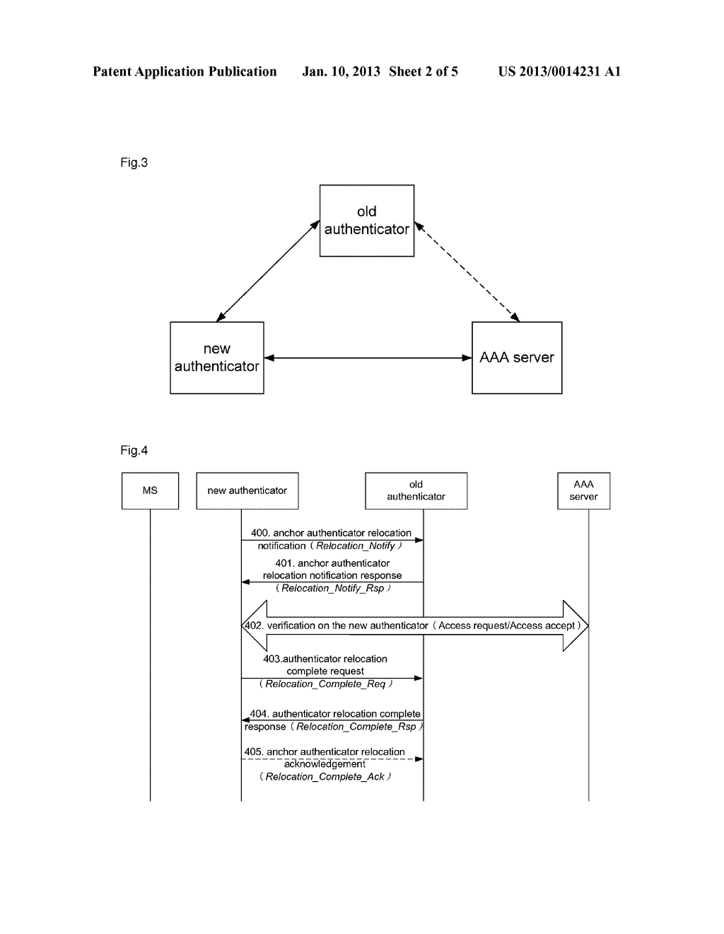 Anchor authenticator relocation method and system - diagram, schematic, and image 03