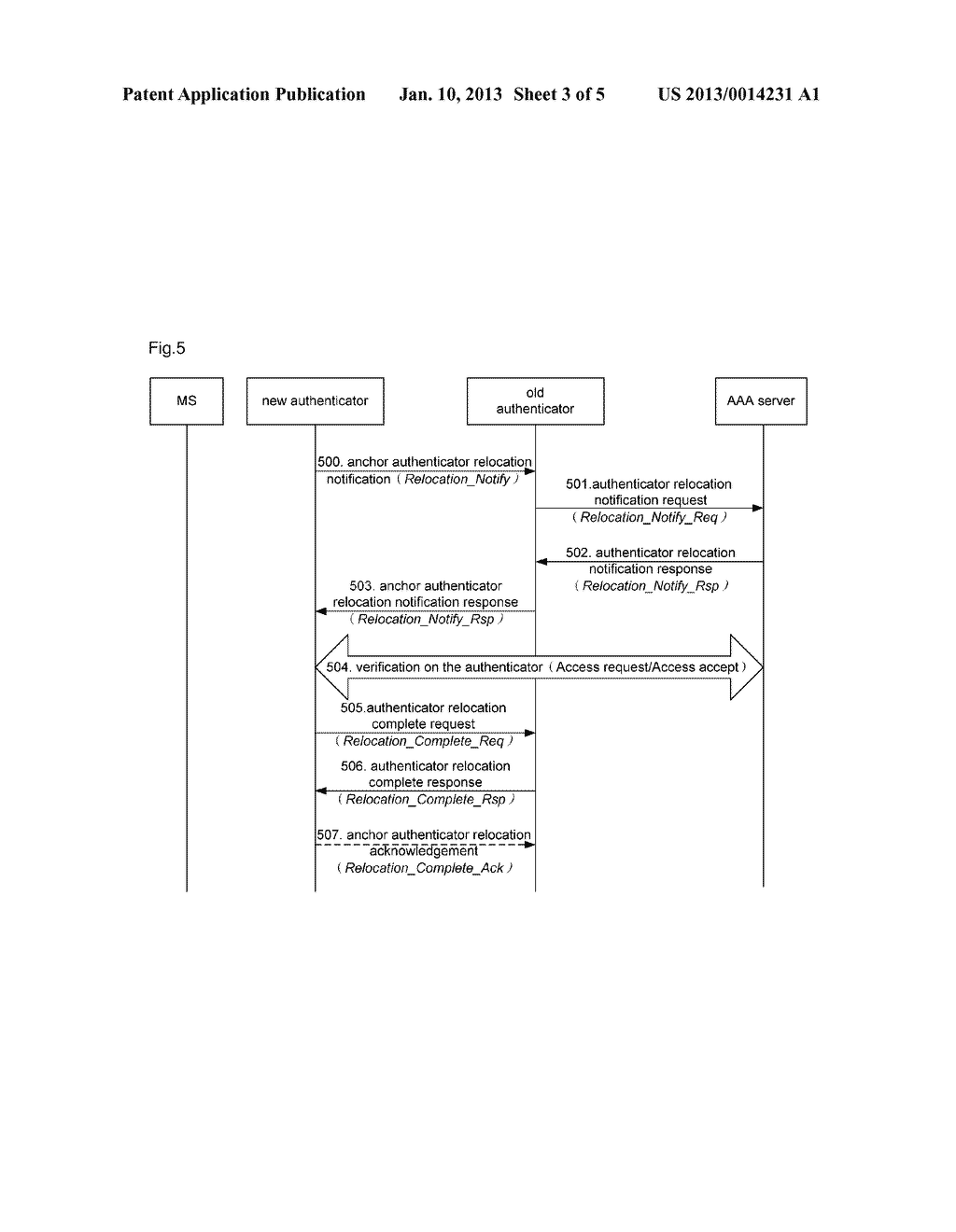 Anchor authenticator relocation method and system - diagram, schematic, and image 04