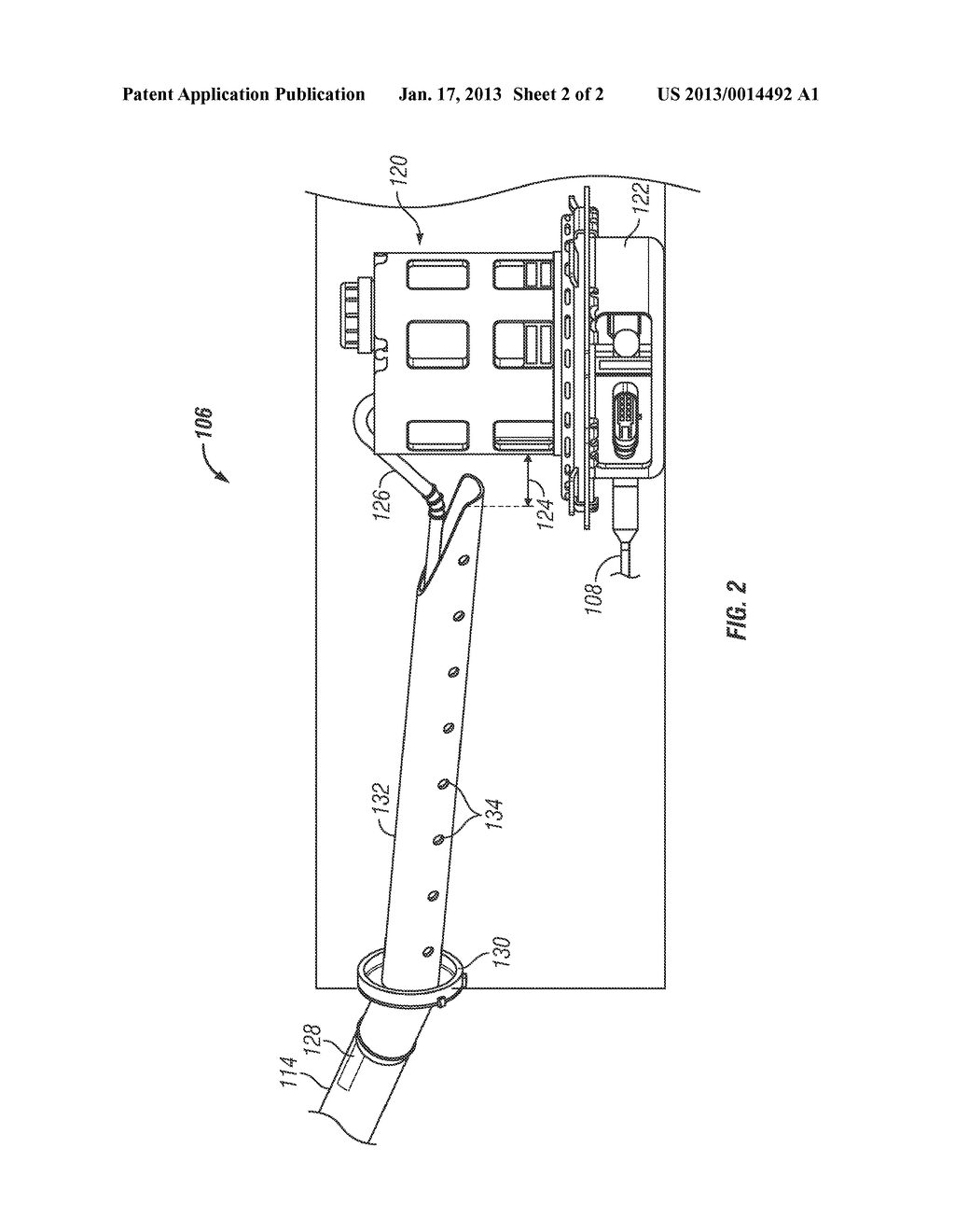 EMISSION CONTROL SYSTEM FOR A VEHICLEAANM BASISTA; JEFFREY S.AACI MILFORDAAST MIAACO USAAGP BASISTA; JEFFREY S. MILFORD MI USAANM YACCARINO; PHILIP A.AACI TROYAAST MIAACO USAAGP YACCARINO; PHILIP A. TROY MI US - diagram, schematic, and image 03