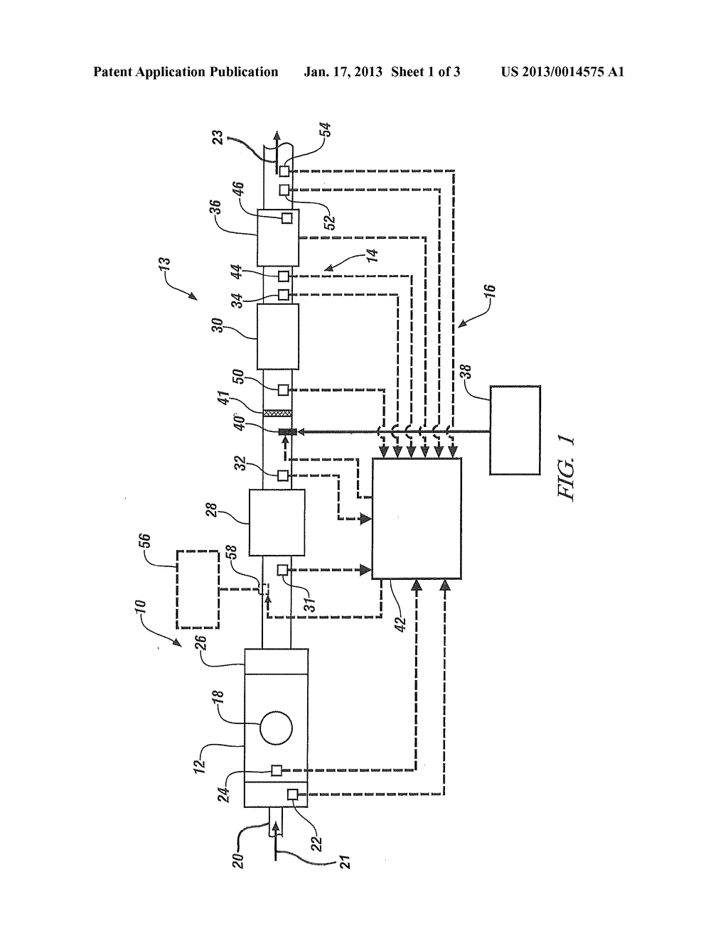 EXHAUST DIAGNOSTIC SYSTEM AND METHOD WITH SCR NH3 DEPLETION CLEANSING MODE     FOR INITIAL STEP IN THE DEF QUALITY SERVICE HEALING TEST - diagram, schematic, and image 02