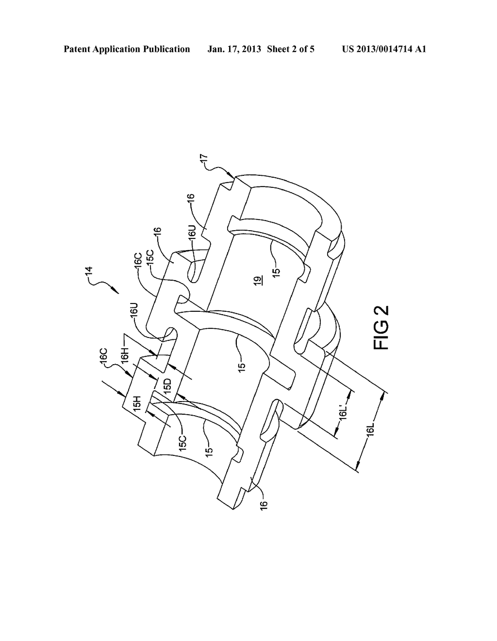 CAMSHAFT INCLUDING WEIGHT REDUCING FEATURES AND METHOD OF FORMING - diagram, schematic, and image 03