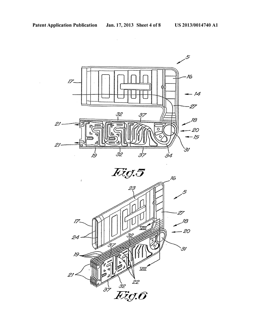 HEAT EXCHANGER FOR A HIGH EFFICIENCY HOT AIR HEATING APPLIANCE AND HEATING     APPLIANCE EQUIPPED THEREWITH - diagram, schematic, and image 05