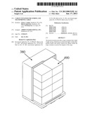 CARGO CONTAINER FOR STORING AND TRANSPORTING CARGO diagram and image