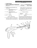 SURGICAL STAPLER WITH FIRING LOCK MECHANISM diagram and image