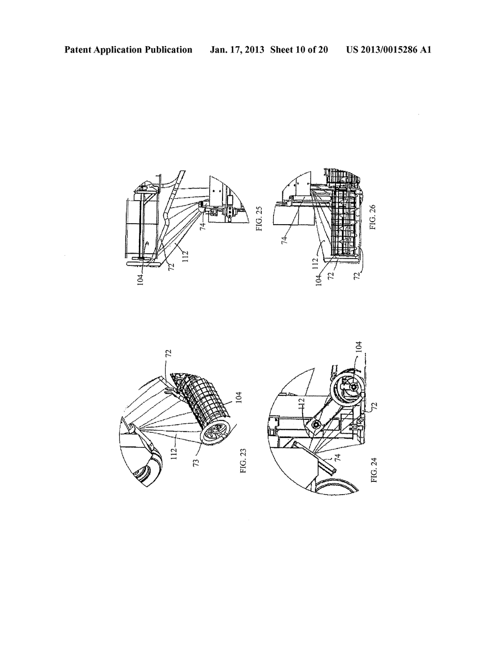 BAG HANDLING ASSEMBLY FOR A GRAIN BAG UNLOADING APPARATUS - diagram, schematic, and image 11