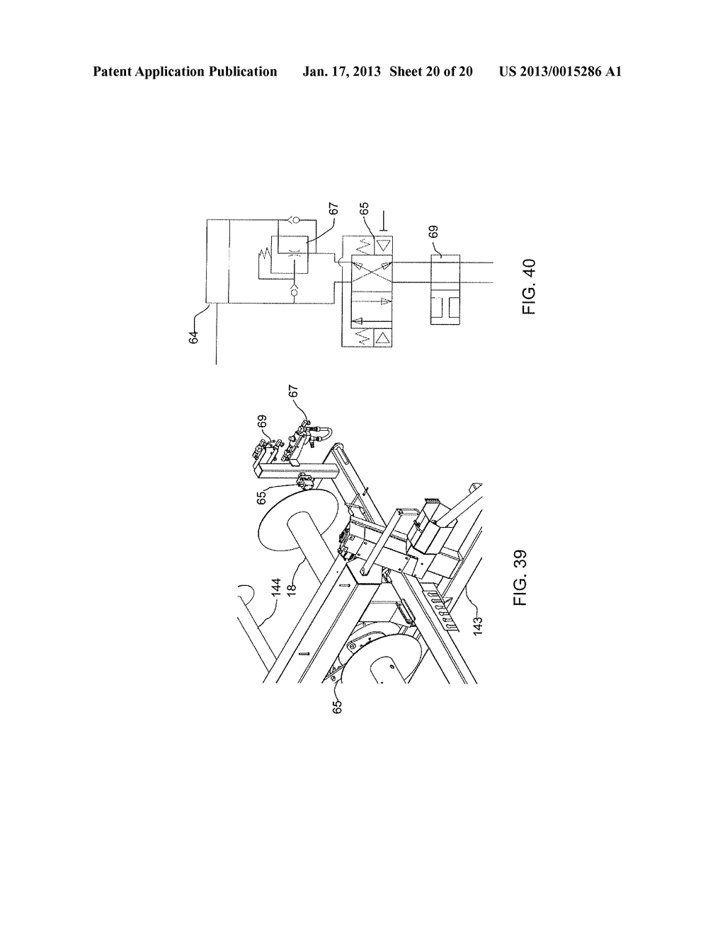 BAG HANDLING ASSEMBLY FOR A GRAIN BAG UNLOADING APPARATUS - diagram, schematic, and image 21