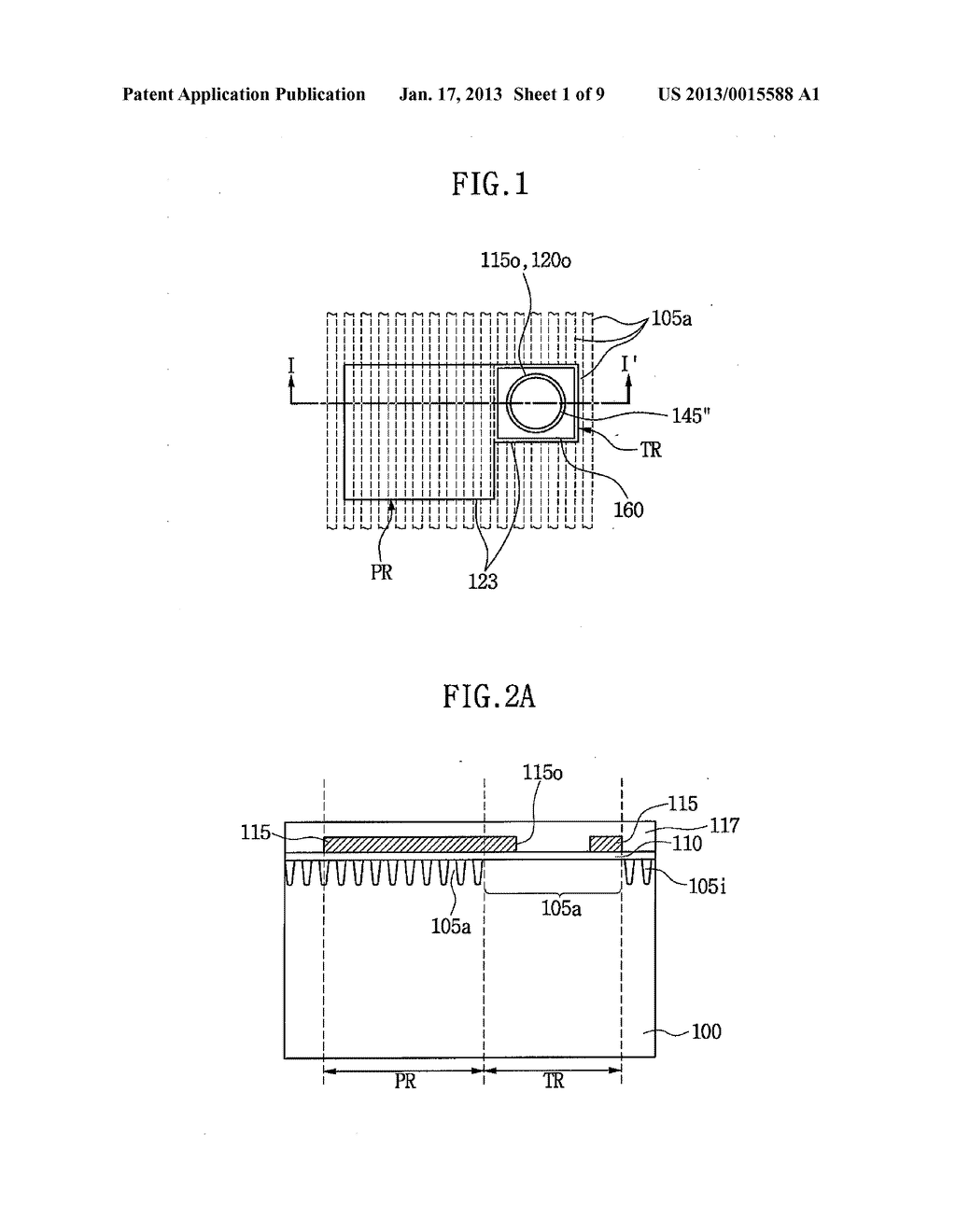 SEMICONDUCTOR DEVICE HAVING THROUGH ELECTRODE AND METHOD OF FABRICATING     THE SAME - diagram, schematic, and image 02