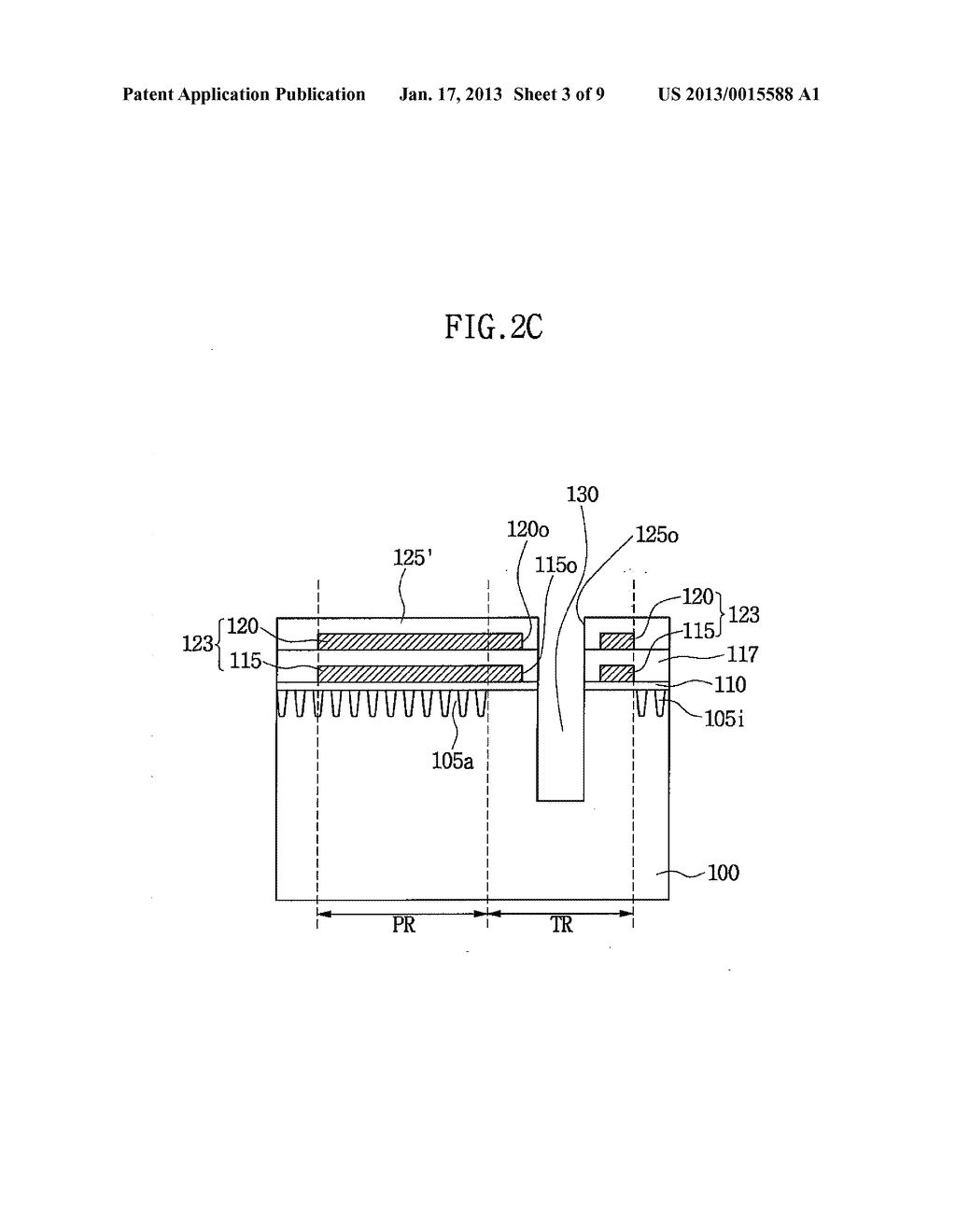 SEMICONDUCTOR DEVICE HAVING THROUGH ELECTRODE AND METHOD OF FABRICATING     THE SAME - diagram, schematic, and image 04