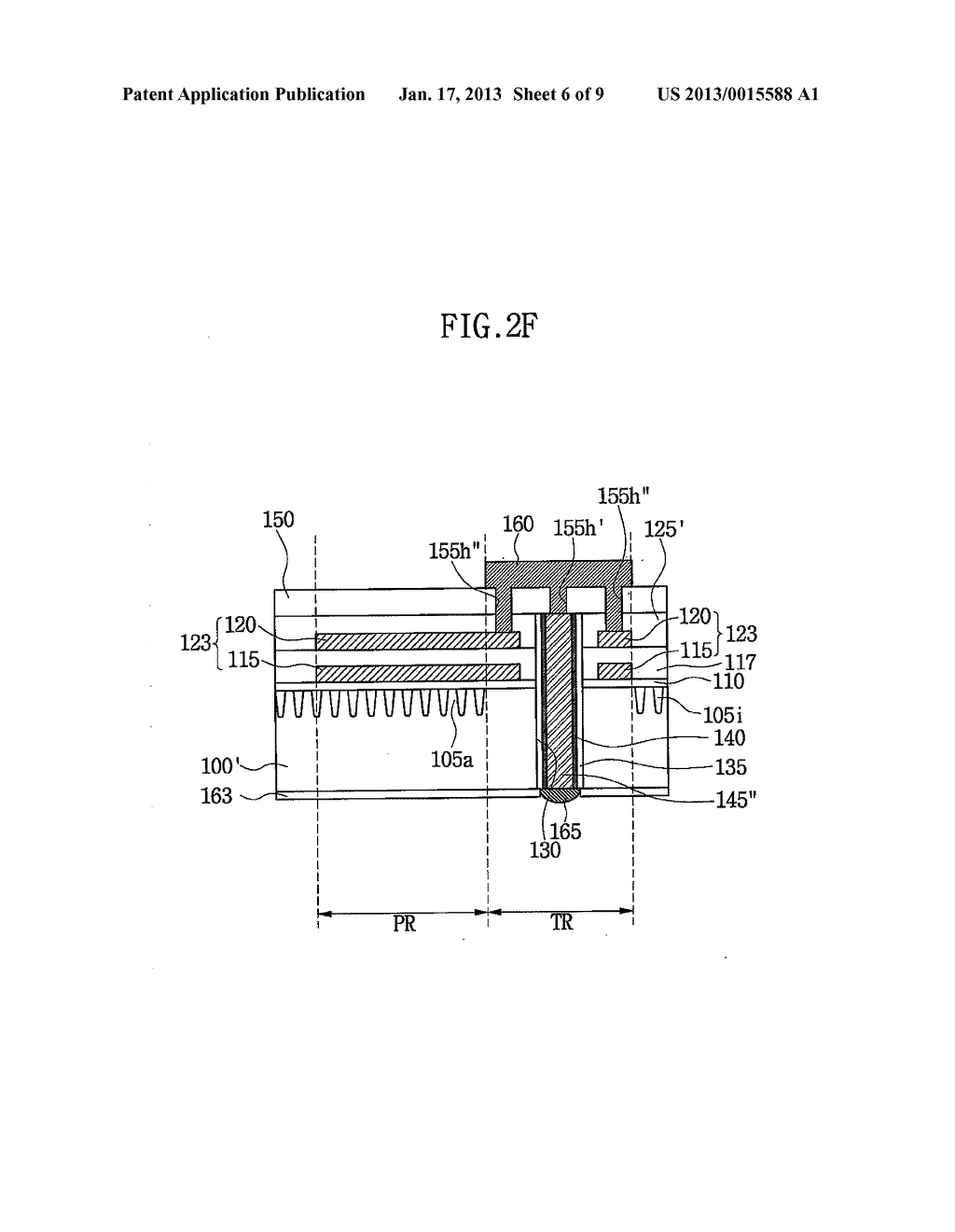SEMICONDUCTOR DEVICE HAVING THROUGH ELECTRODE AND METHOD OF FABRICATING     THE SAME - diagram, schematic, and image 07