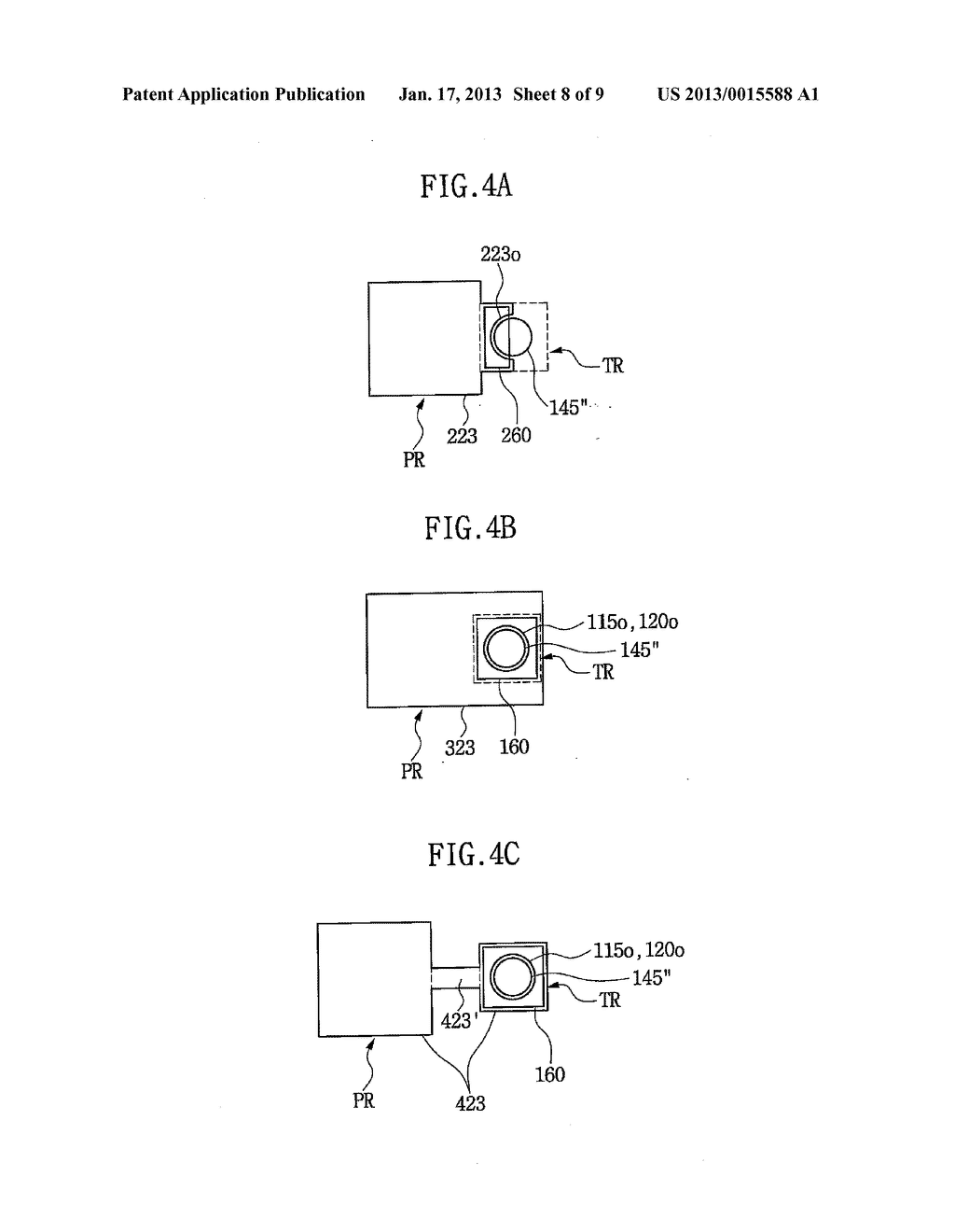 SEMICONDUCTOR DEVICE HAVING THROUGH ELECTRODE AND METHOD OF FABRICATING     THE SAME - diagram, schematic, and image 09