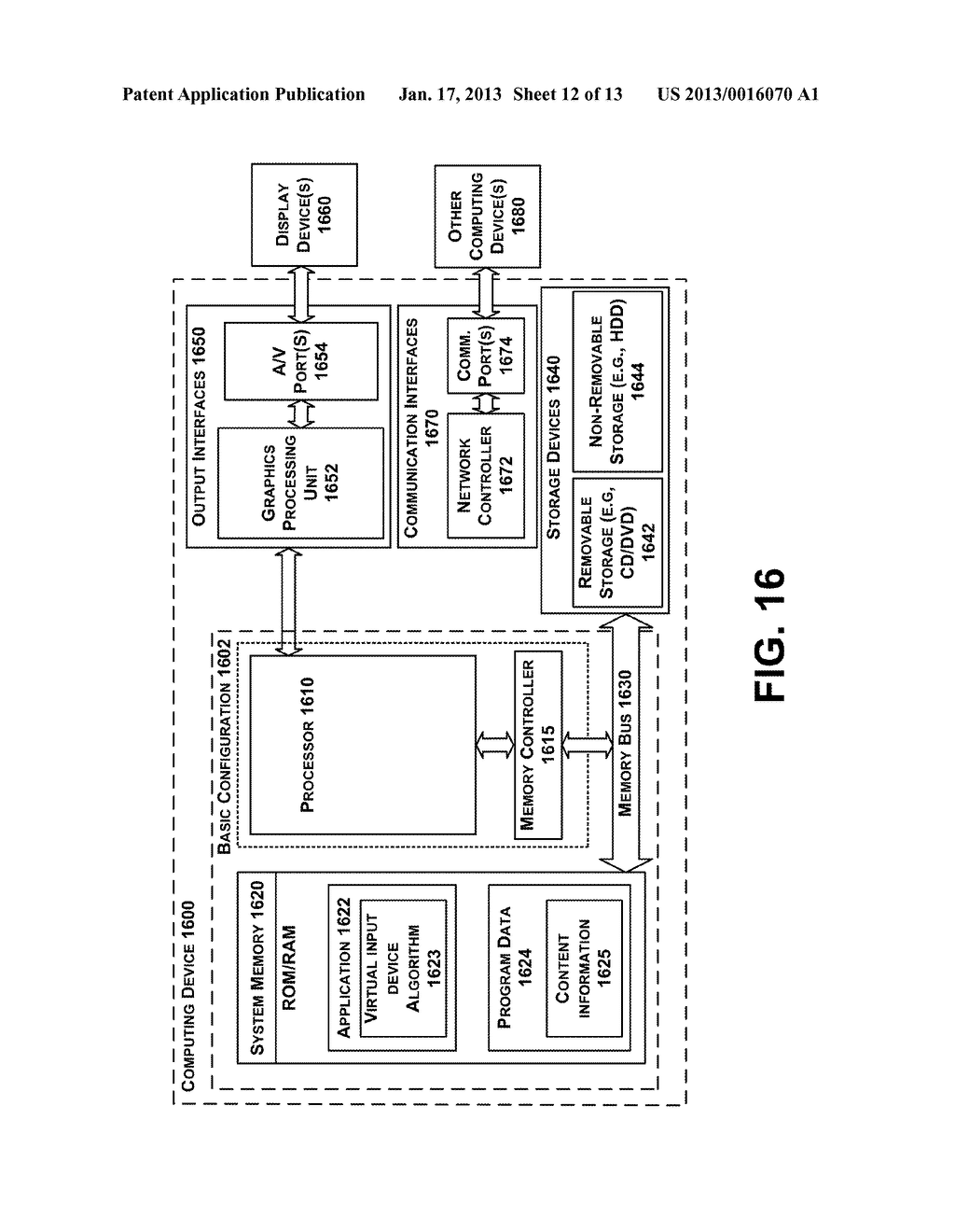 Methods and Systems for a Virtual Input Device - diagram, schematic, and image 13
